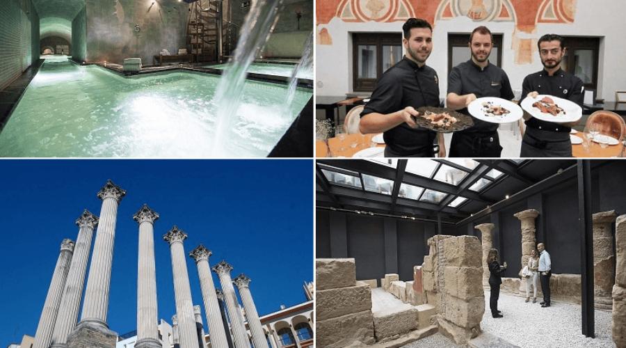 Gastronomía Romana + Baños Romanos + Visita Guiada por la Córdoba Romana