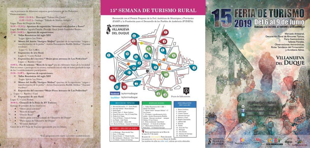 Programa y Mapa de la Feria de Turismo 2019