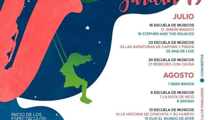 Raíces de Jardín: Del 16 de Julio al Septiembre 2019.