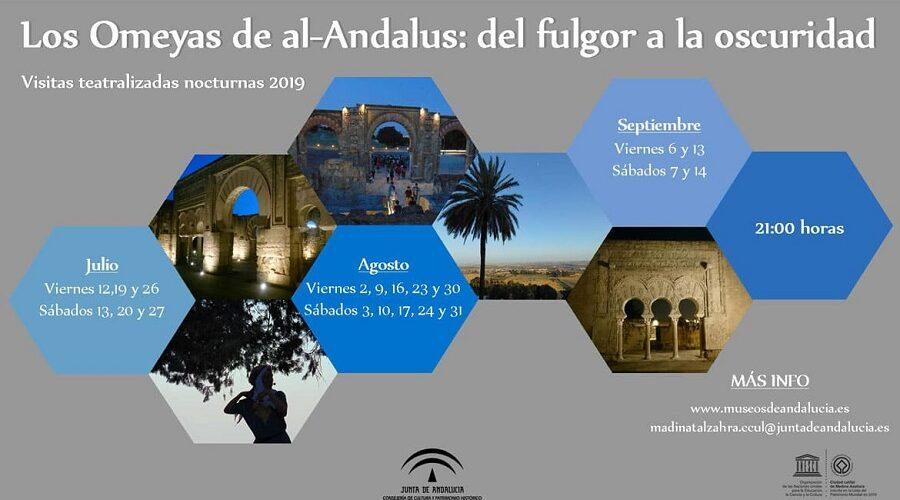 Visitas teatralizadas nocturnas en Medina Azahara