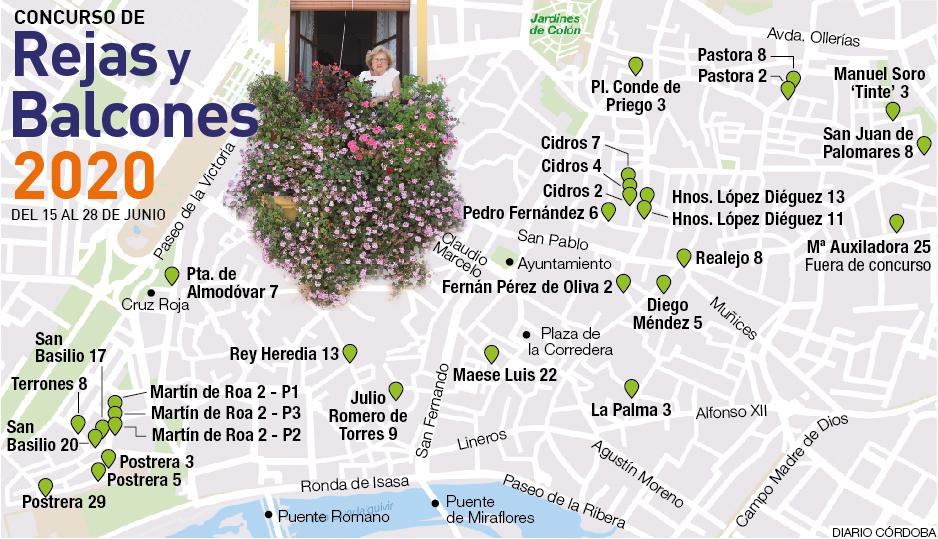Concurso Rejas y Balcones Córdoba 2020