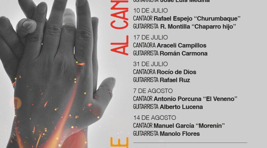 Al Calor del Flamenco 2021: 3 Julio al 21 Agosto | 22:00h.