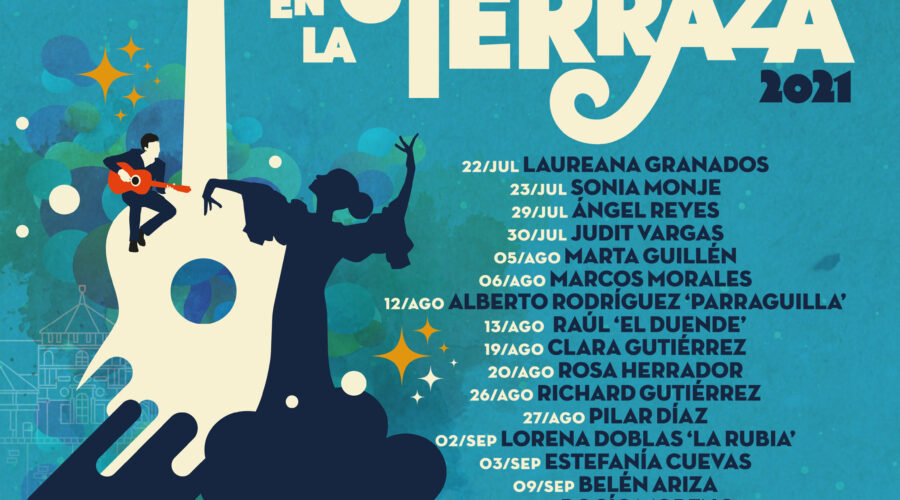 Baile en la Terraza 2021: Julio, Agosto y Septiembre 22:00h.